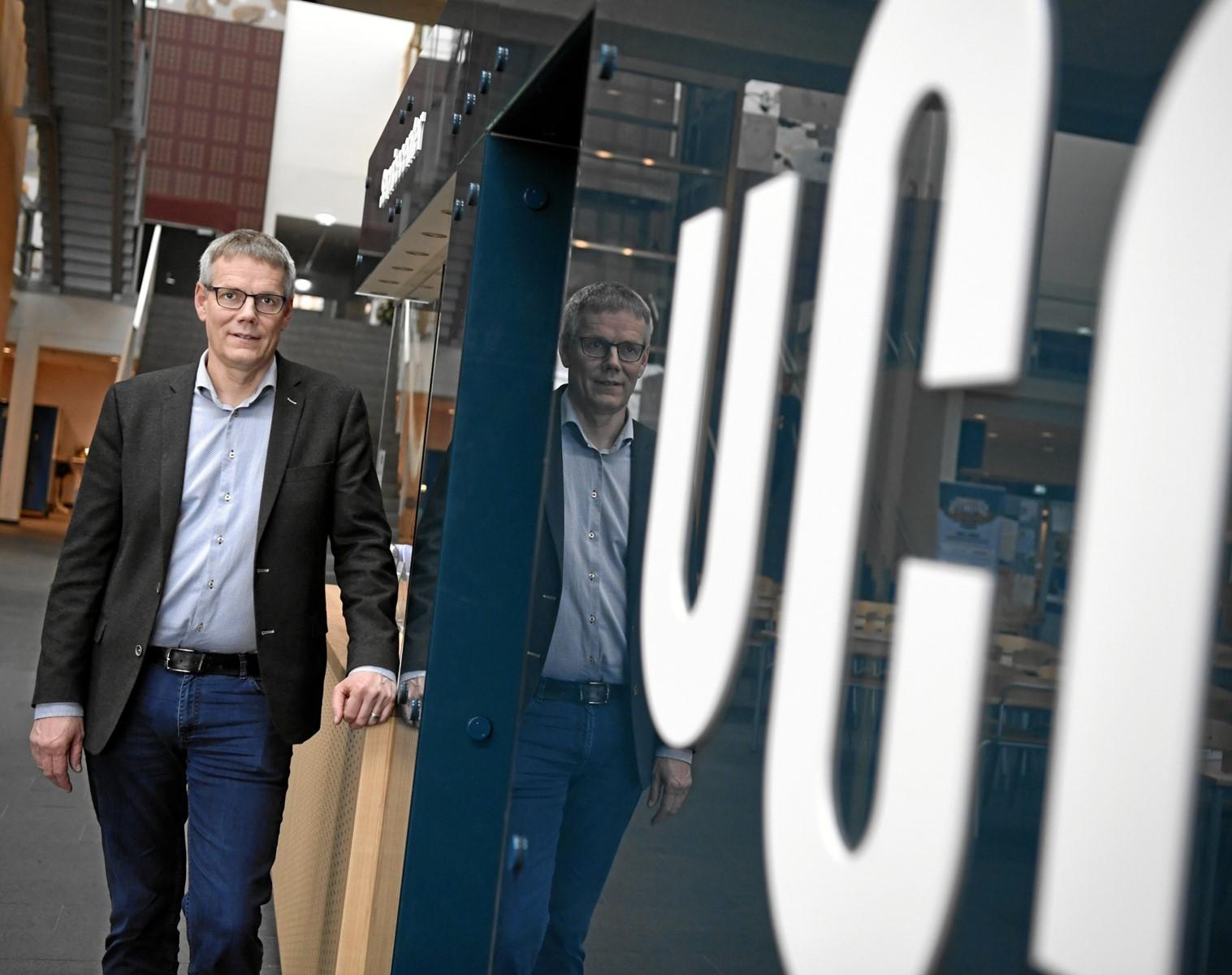 Peter Møller Pedersen er konstitueret rektor for UCN resten af 2021. Arkivfoto: Mette Nielsen
