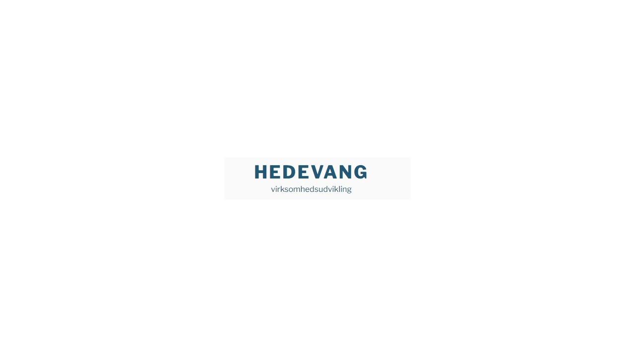 Hedevang - Ledelse og Rekruttering ApS