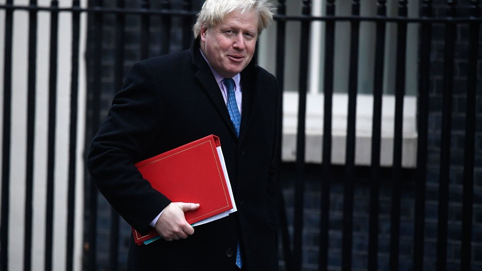 Britain's Foreign Secretary Boris Johnson, arrives at number 10 Downing Street for a cabinet meeting, in London Foto: Reuters/Toby Melville