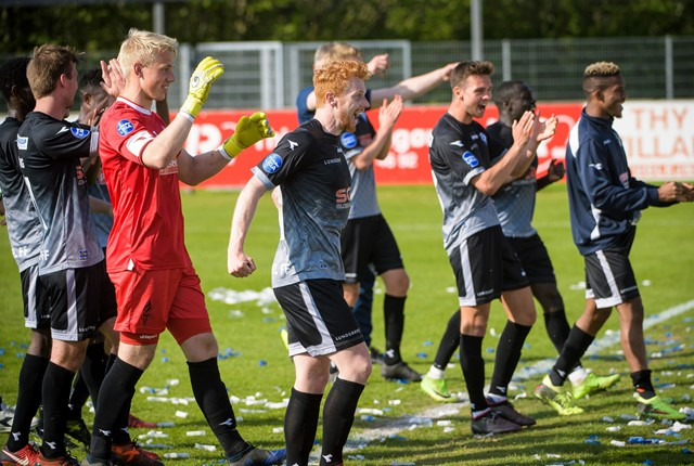 Foto: Bo Lehm -  12.05.18. -  Fodbold - 1. division, Thisted  Thisted FC TFC - Vendsyssel FF (1-3)  Lerpytter Stadion, Thisted