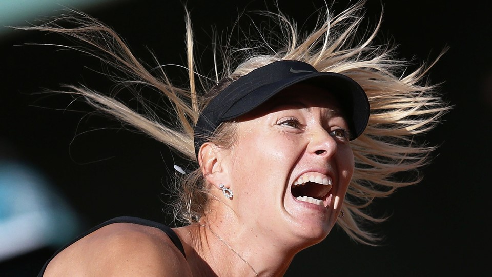Maria Sharapova er i topform forud for finalen i French Open. Foto: Scanpix