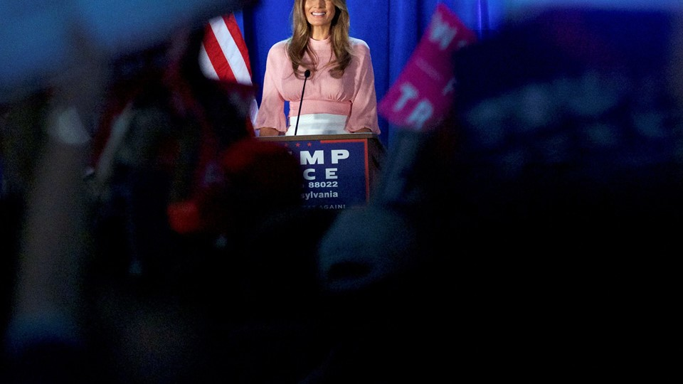 Melania Trump, wife to the Republican Presidential nominee Donald Trump, holds an event at Main Line Sports in Berwyn, Pennsylvania Foto: Reuters/Mark Makela
