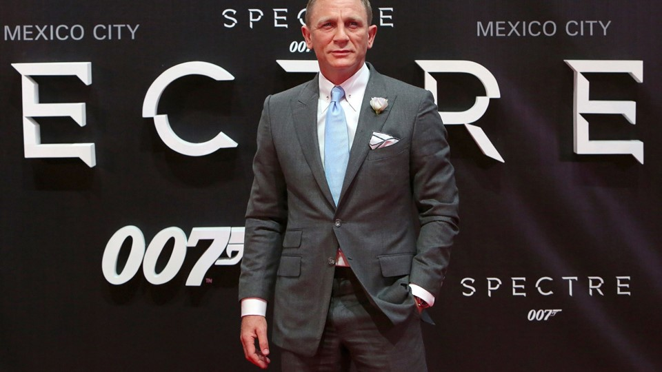 Daniel Craig poses for photographers on the red carpet at the Mexican premiere of the new James Bond 007 film Foto: Reuters/Ginnette Riquelme