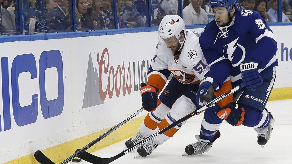 NHL: Stanley Cup Playoffs-New York Islanders at Tampa Bay Lightning Foto: Scanpix/Kim Klement