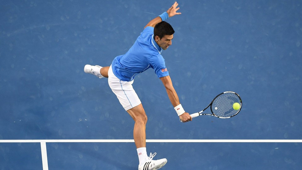 Novak Djokovic vandt igen Australian Open. Foto: William West/Scanpix