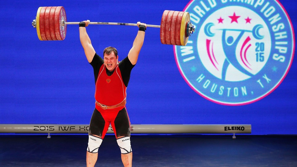 2015 International Weightlifting Federation World Championships Foto: Scanpix/Scott Halleran