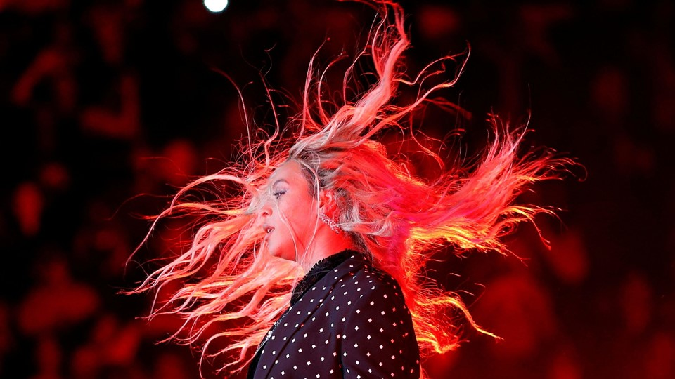 Beyonce performs at a campaign concert for U.S. Democratic presidential nominee Hillary Clinton in Cleveland, Beyonce Foto: Reuters/Brian Snyder