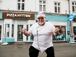 Har du set at Pizzahytten er åbnet i Reberbansgade