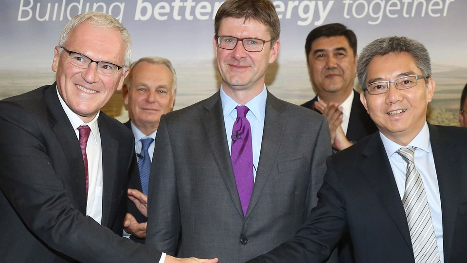 Hinkley Point nuclear power station agreement signing in London Foto: Reuters/Pool