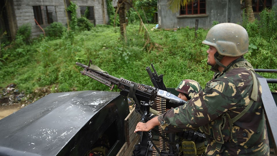 PHILIPPINES-UNREST-MILITARY-CONFLICT Foto: Scanpix/Ted Aljibe