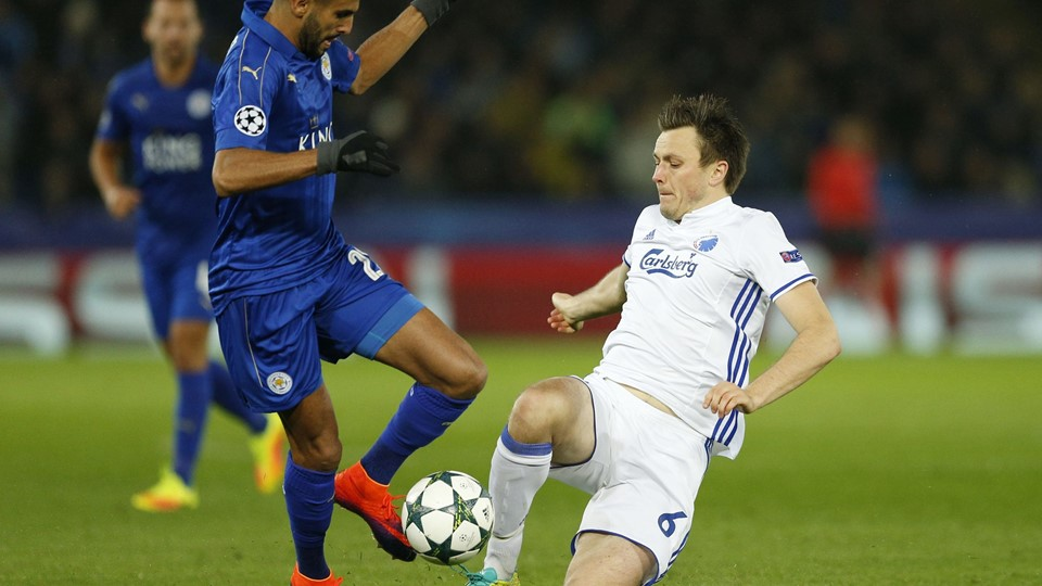 Leicester City v FC Copenhagen - UEFA Champions League Group Stage - Group G Foto: Reuters/Andrew Boyers
