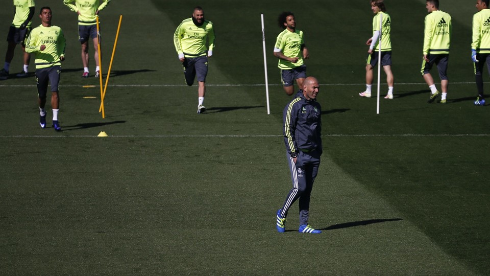 Football Soccer - Real Madrid training session Foto: Reuters/Sergio Perez