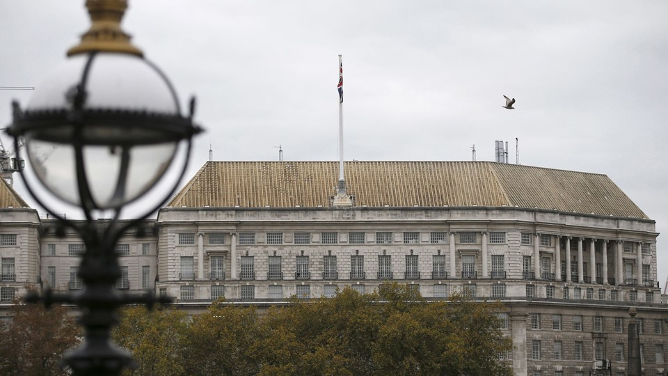 Thames House, the headquarters of the British Security Service (MI5) is seen in London Foto: Reuters/Peter Nicholls