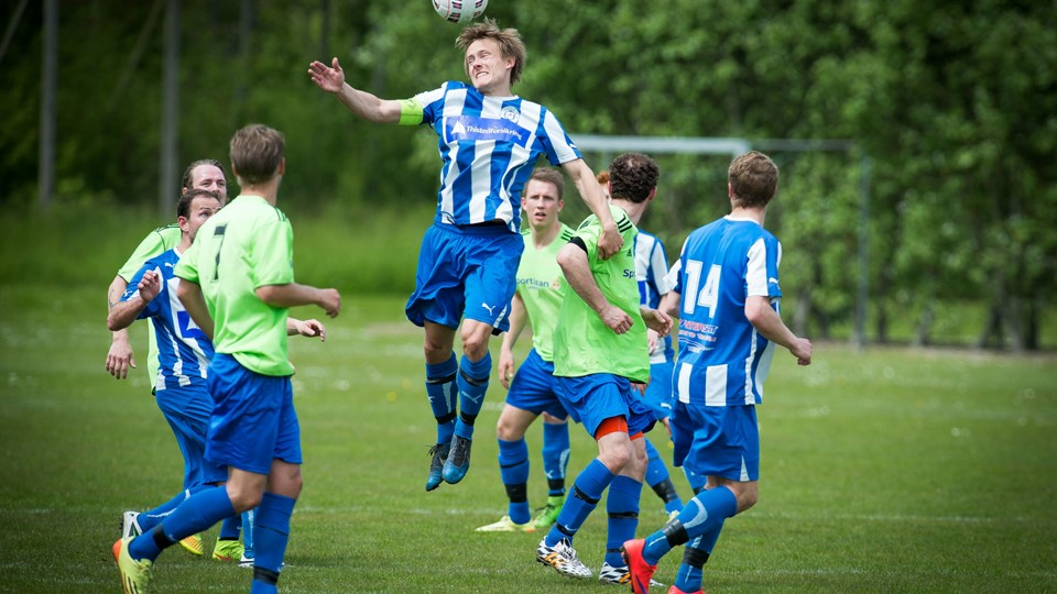 Thisted FC vandt i Serie 1 over Helsted Fremad IF. Arkivfoto: Bo Lehm