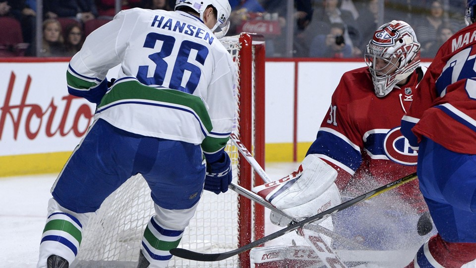 NHL: Vancouver Canucks at Montreal Canadiens Foto: Scanpix/Eric Bolte