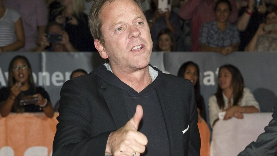 Actor Kiefer Sutherland arrives for the premiere of the movie Foto: Reuters/Fred Thornhill
