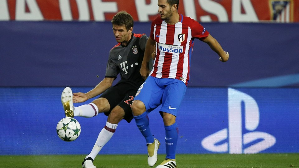 Atletico Madrid v Bayern Munich - UEFA Champions League Group Stage - Group D Foto: Reuters/Sergio Perez