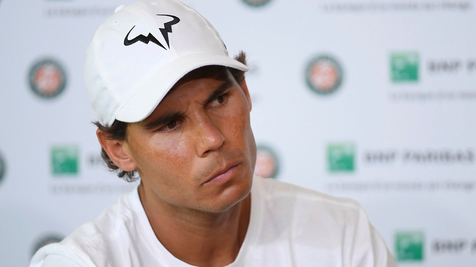 Tennis - French Open - Roland Garros - Rafael Nadal of Spain attends a news conference - Paris Foto: Reuters/Stringer