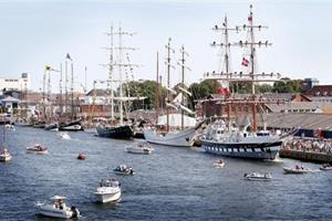Kronprins protektor for Tall Ships Races