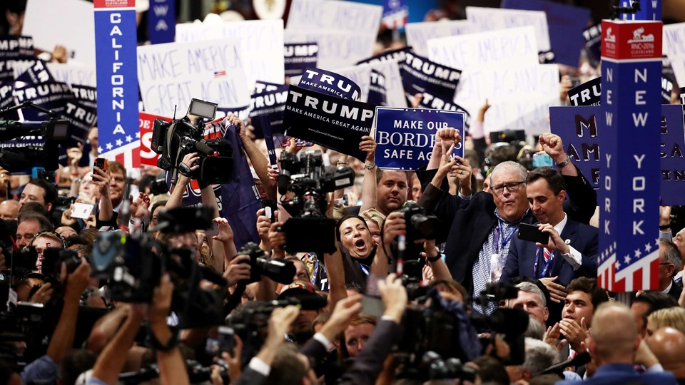 Republican National Convention: Day Two Foto: Scanpix/Win Mcnamee