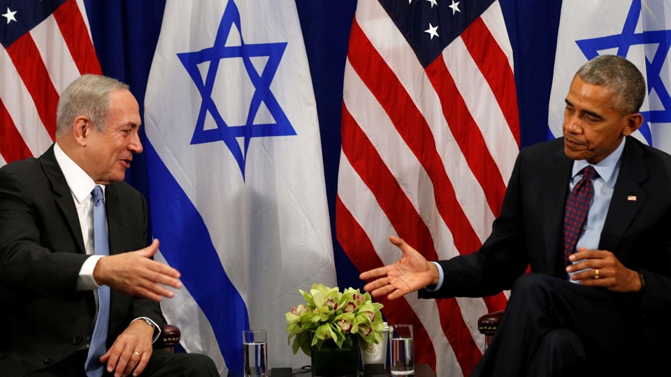 Obama meets with Netanyahu in New York, Barack Obama Foto: Reuters/Kevin Lamarque