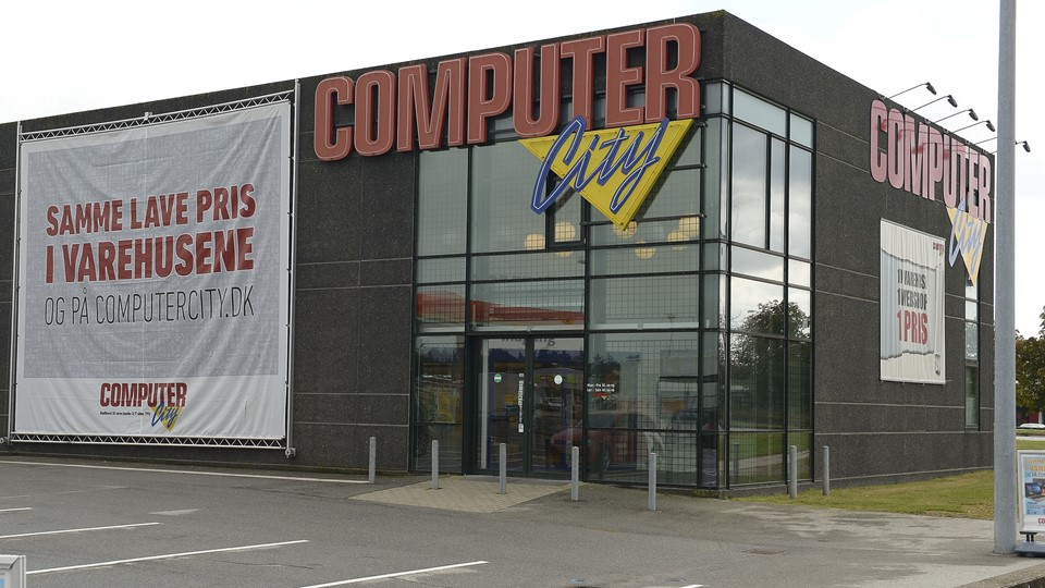 Computer City lukker. Foto Michael Bygballe