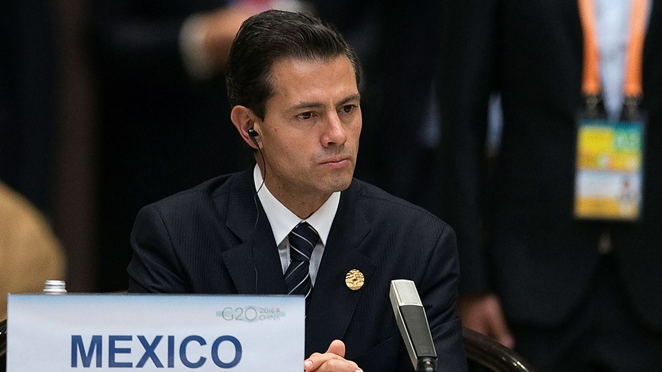 Mexico's President Enrique Pena Nieto attends the opening ceremony of the G20 Summit in Hangzhou Foto: Reuters/Pool