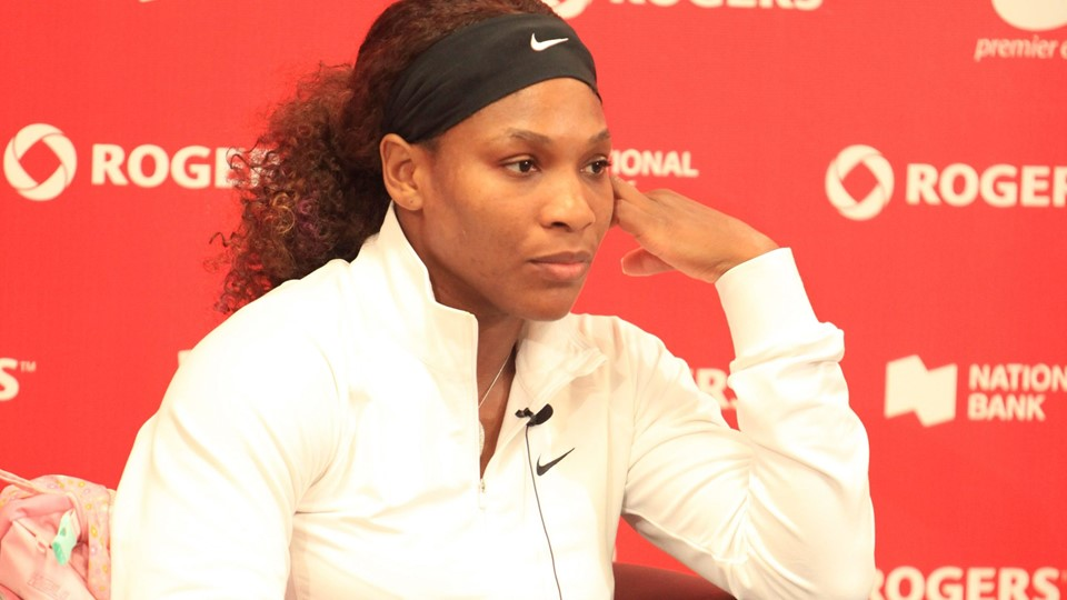 TORONTO: AUGUST 12. Serena Williams in the Rogers Cup 2011 on August 12, 2011 in Toronto, Canada. Foto: Free/Colourbox