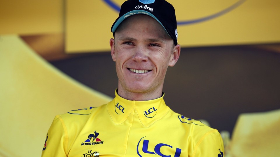 Froome dukker Quintana og styrer mod sejr Cycling - Tour de France cycling race - Stage 17 from Berne to Finhaut-Emosson, Switzerland Foto: Reuters/Juan Medina