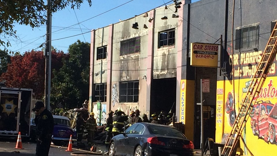 Nine dead, 25 missing after fire at California rave party Foto: Scanpix/Virginie Goubier