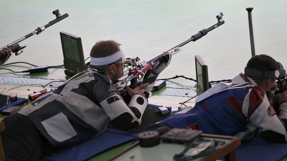2016 Rio Olympics - Shooting - Preliminary - Men''s 50m Rifle Prone Qualification Foto: Reuters/Edgard Garrido/arkiv