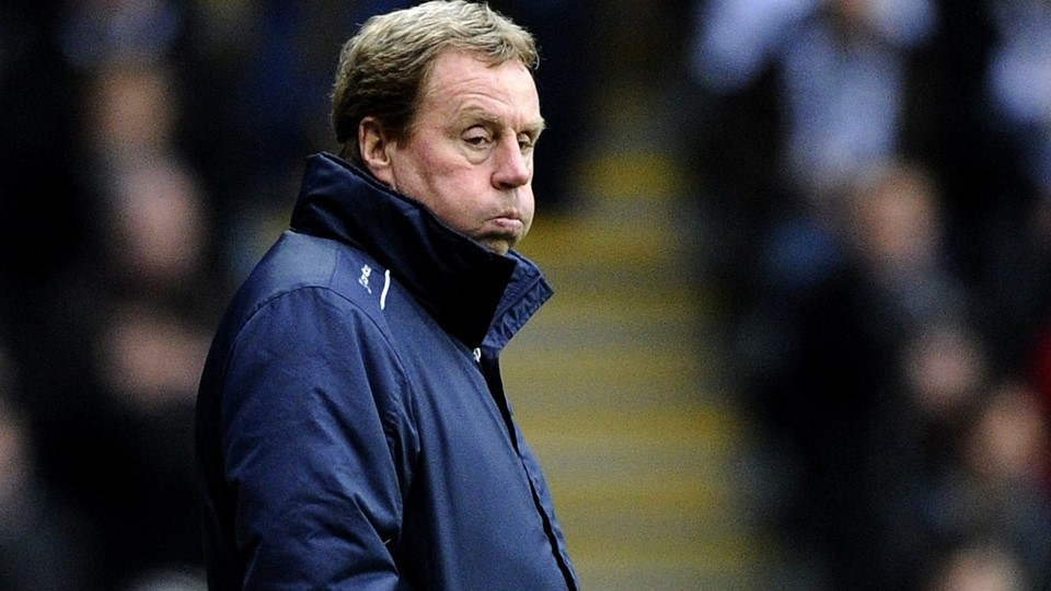 File photograph of Queens Park Rangers manager Harry Redknapp during their English Premier League soccer match at the Liberty Stadium in Swansea Foto: Reuters/Rebecca Naden
