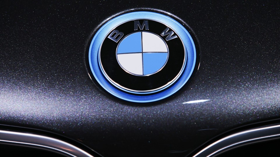 The BMW logo is seen during the 2016 New York International Auto Show in Manhattan, New York Foto: Reuters/Eduardo Munoz