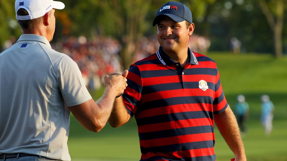 2016 Ryder Cup - Afternoon Fourball Matches Foto: Scanpix/Andrew Redington