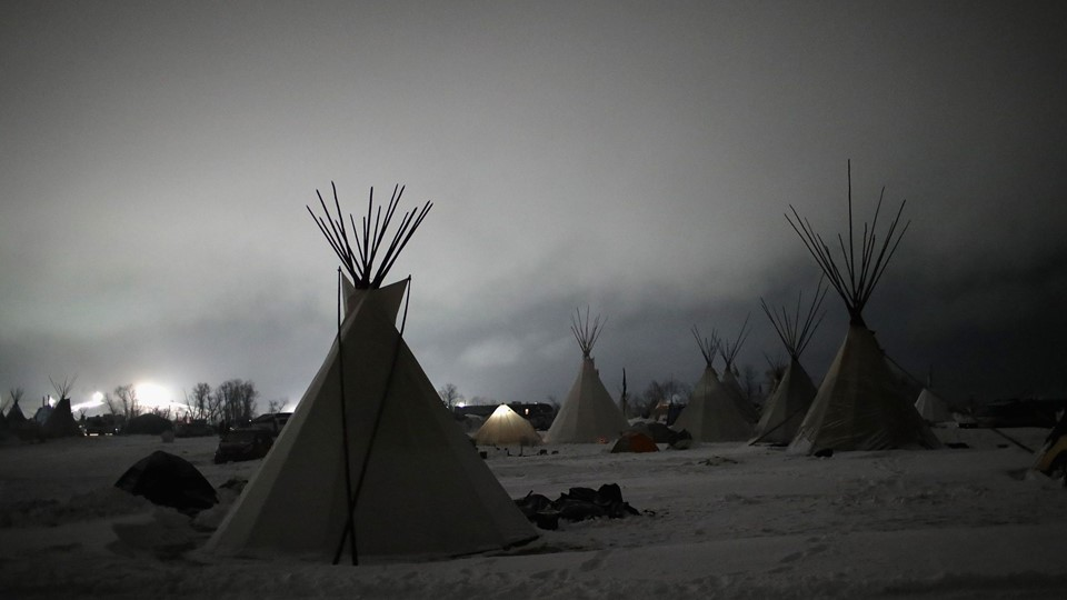 Protests Continue At Standing Rock Sioux Reservation Over Dakota Pipeline Access Project Foto: Scanpix/Scott Olson