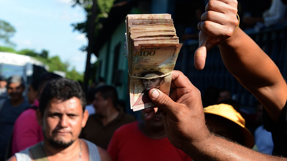 VENEZUELA-ECONOMY-CRISIS-CURRENCY Foto: Scanpix/George Castellanos