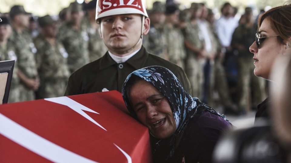TOPSHOTS-TURKEY-SYRIA-ATTACKS-UNREST Foto: Scanpix/Bulent Kilic