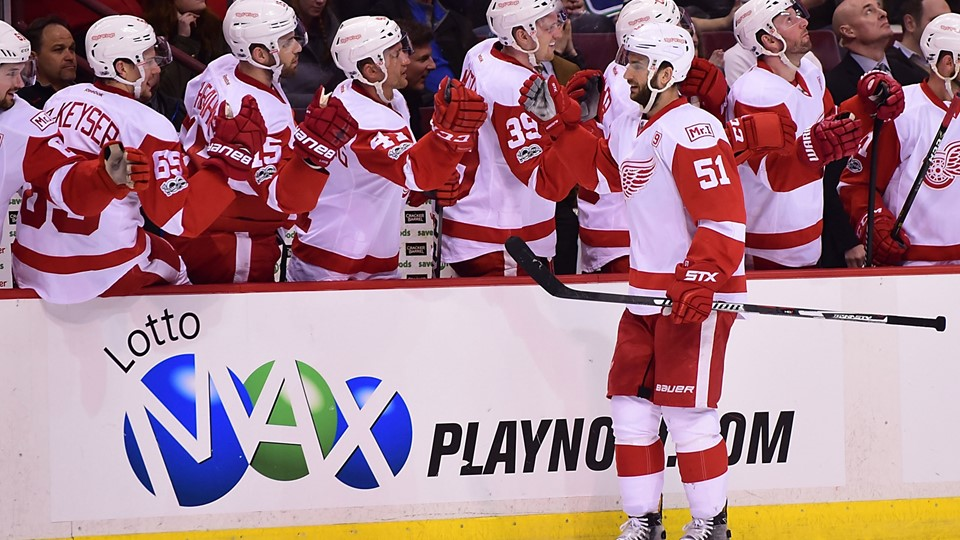 NHL: Detroit Red Wings at Vancouver Canucks Foto: Scanpix/Anne-marie Sorvin