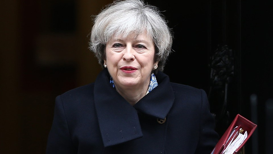 Britain''s Prime Minister Theresa May leaves Downing Street in London Foto: Reuters/Neil Hall