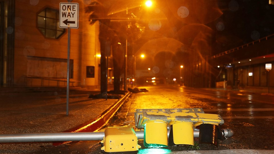 Tropical Storm Slams Into Texas Coast Bringing Days Of Heavy Rains Foto: Scanpix/Joe Raedle/arkiv