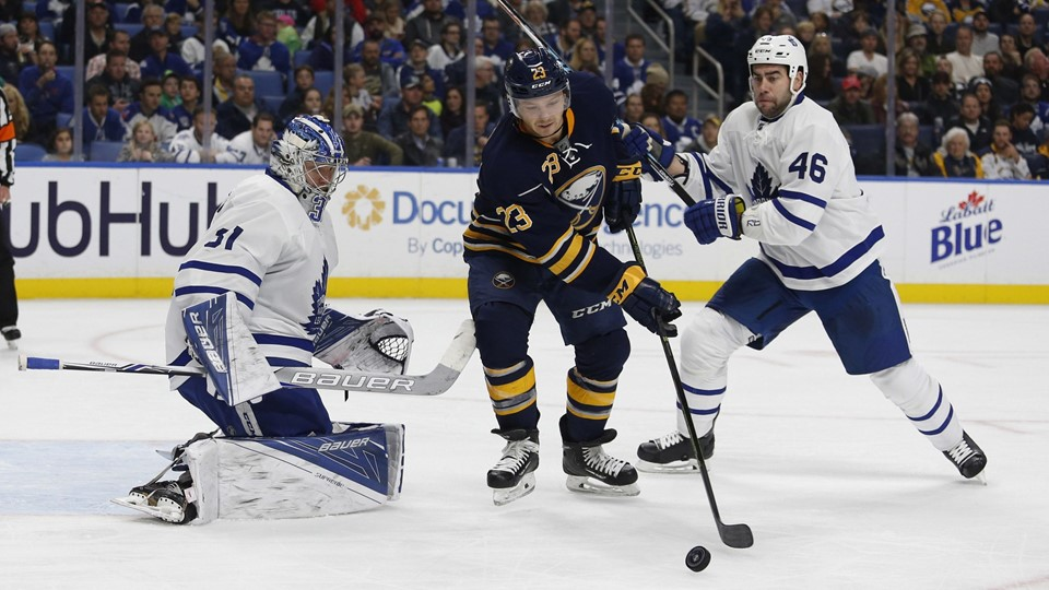 NHL: Toronto Maple Leafs at Buffalo Sabres Foto: Scanpix/Timothy T. Ludwig