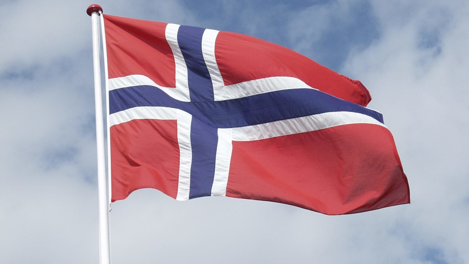 norsk flag Norge Foto: Free/Colourbox