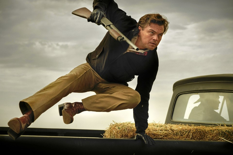 Leonardo DiCaprio i en scene fra Once Upon a Time in Hollywood. Hans Jørgen Callesen