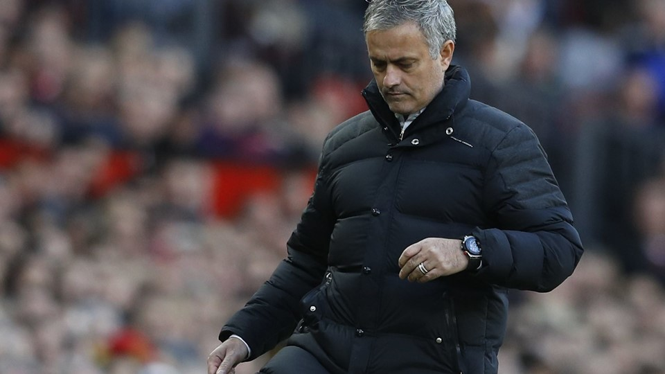 Manchester United manager Jose Mourinho Foto: Reuters/Phil Noble