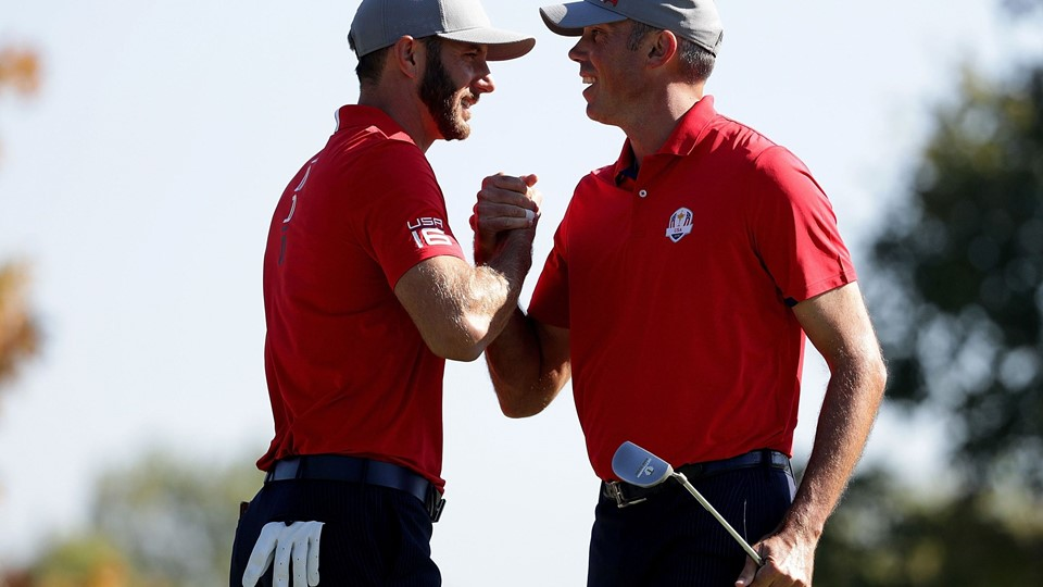 2016 Ryder Cup - Morning Foursome Matches Foto: Scanpix/Streeter Lecka