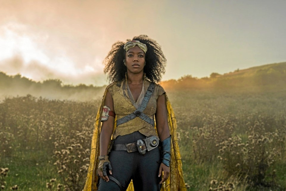 Naomi Ackie i den nye Star Wars film.