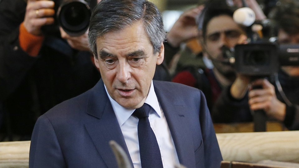 Francois Fillon, member of the Republicans political party and 2017 presidential election candidate of the French centre-right, visits the International Agricultural Show in Paris Foto: Reuters/Regis Duvignau