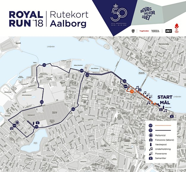 Trafikkort, Royal Run