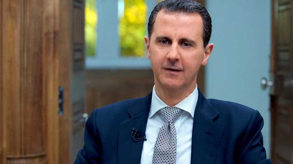 FILE PHOTO: Syria''s President Bashar al-Assad speaks during an interview with AFP news agency in Damascus Foto: Reuters/Sana