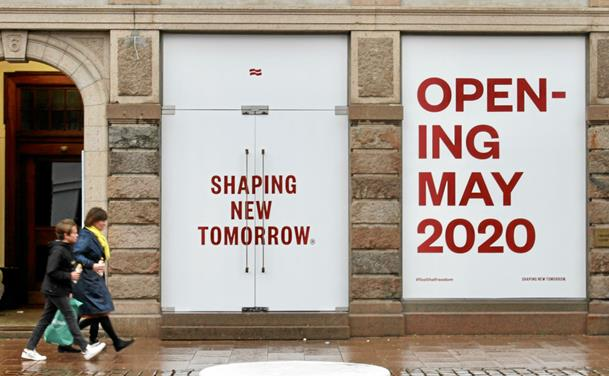 Nu indtager Shaping New Tomorrow Aarhus